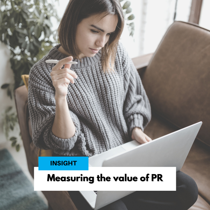 Measuring the value of PR
